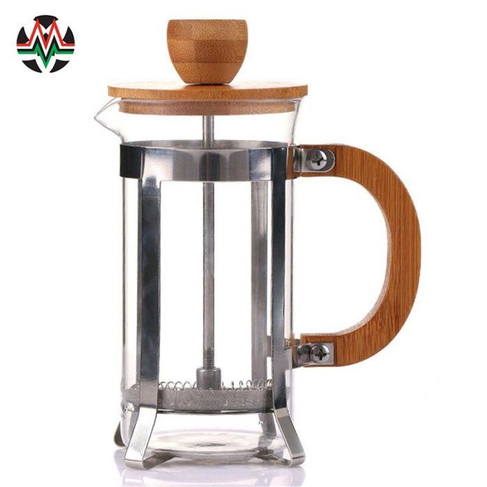 Small French Press with Bamboo Cover