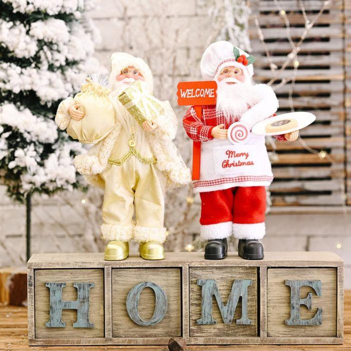 Santa Figurine Christmas Decoration