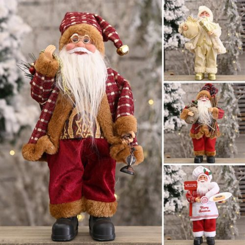 Santa Figurine Christmas Decoration