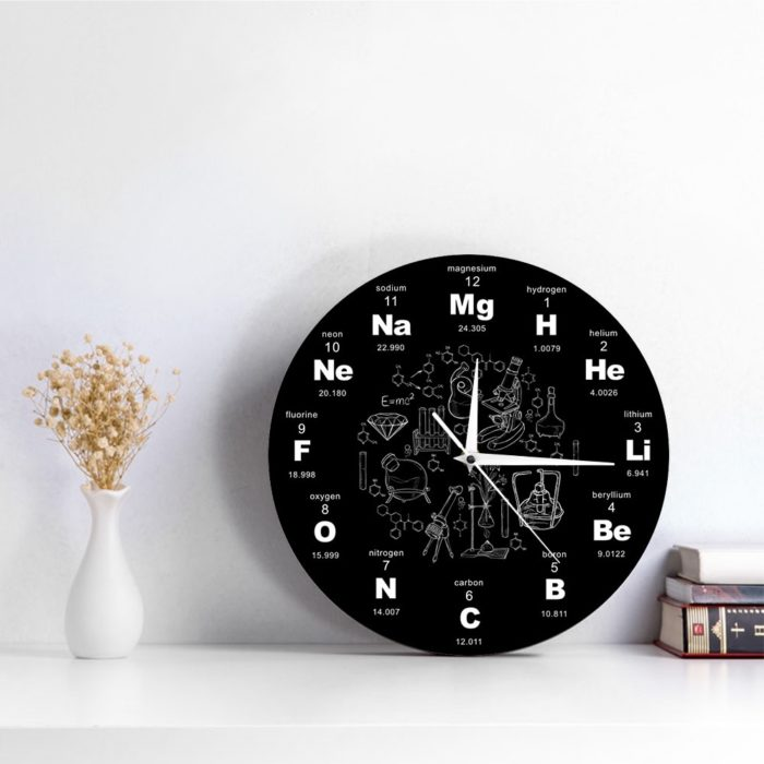Chemist Clock Educational Wall Clock