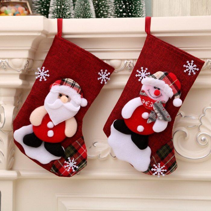 Christmas Gift Sock Holiday Decor