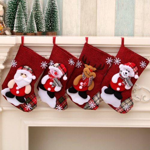 Christmas Gift Sock Holiday Decor