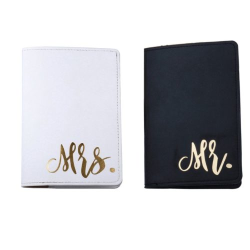 Travel Couple Passport Cover