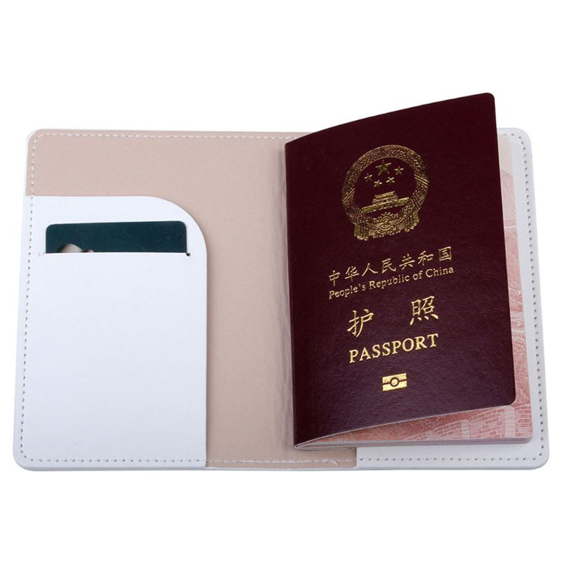 Portable Mr Mrs Travel Passport ID Credit Card Cover Holder Case Protector 517D