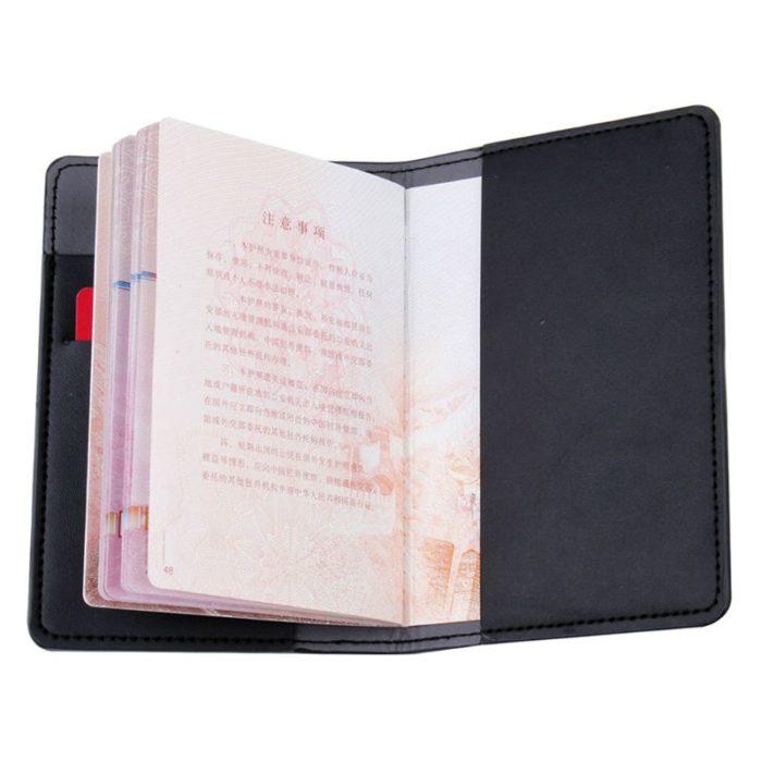 Travel Couple Passport Cover