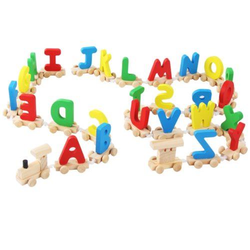 Alphabet Train Toy for Kids