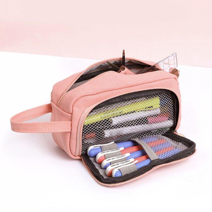 Large Capacity Pencil Case Pouch