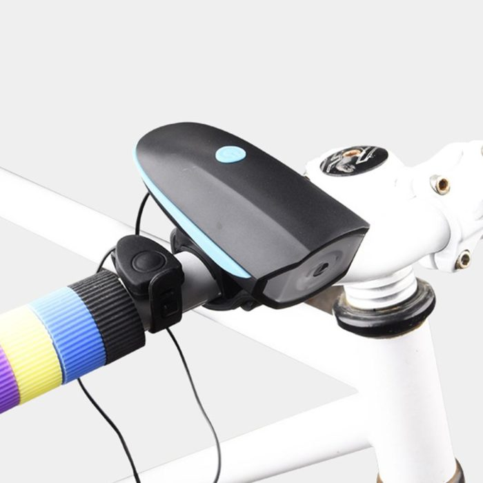 Rechargeable Bike Light with Horn
