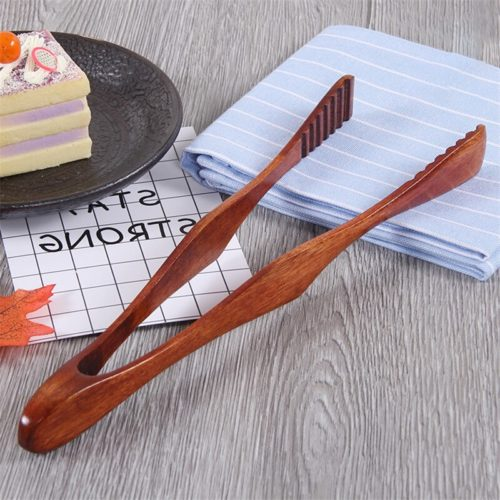 Bamboo Tongs Kitchen Cooking Utensil
