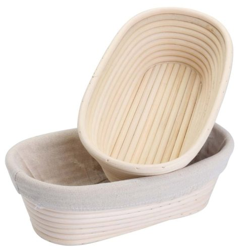 Bread Proofing Baskets Rattan Trays (2pcs)
