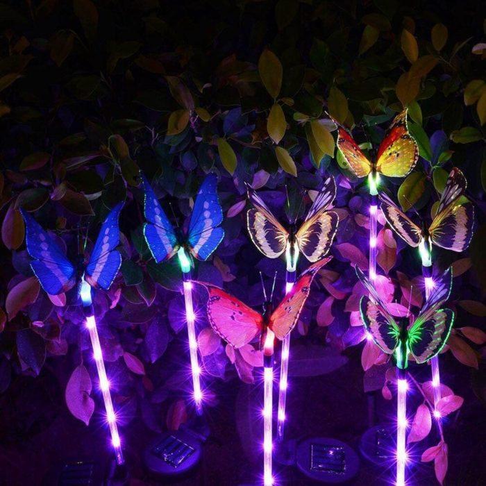 Solar Butterfly Lights Outdoor Decor (3pcs)