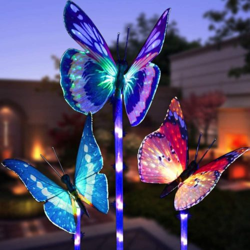 Solar Butterfly Lights Outdoor Decor (3pcs)