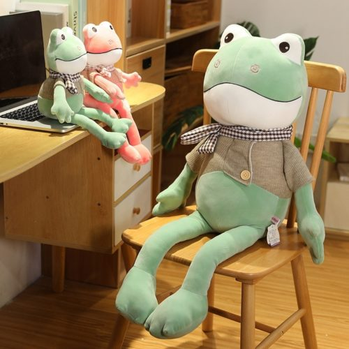 Frog Stuffed Animal Soft Plush Toy