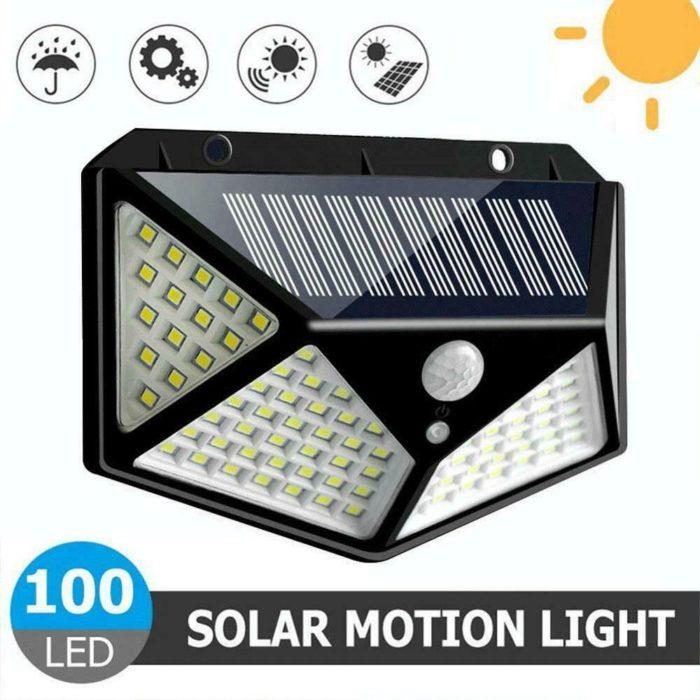 Solar Motion Detector Light Garden LED