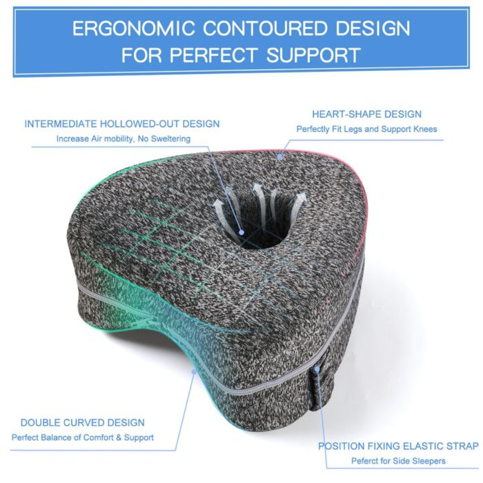 Knee Cushion for Sleeping Thigh Pillow