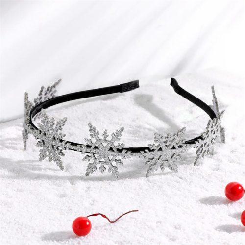 Snowflake Headband Christmas Headwear