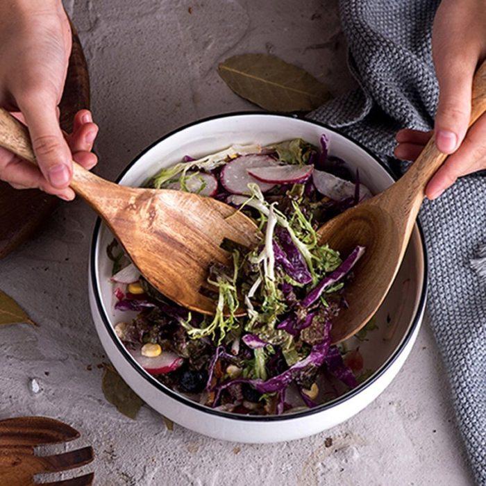 Wooden Salad Servers Set (2pcs)
