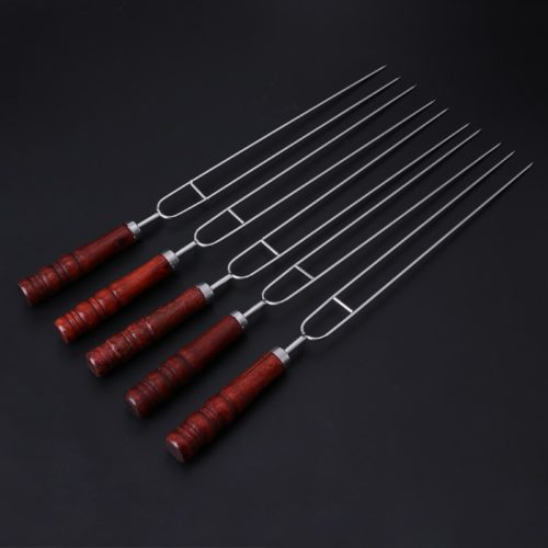 Barbecue Forks Stainless Skewers (5pcs)