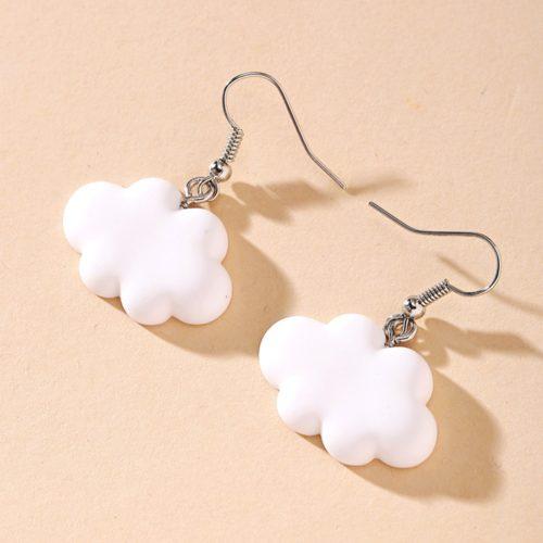 Cloud Earrings Fashion Accessory