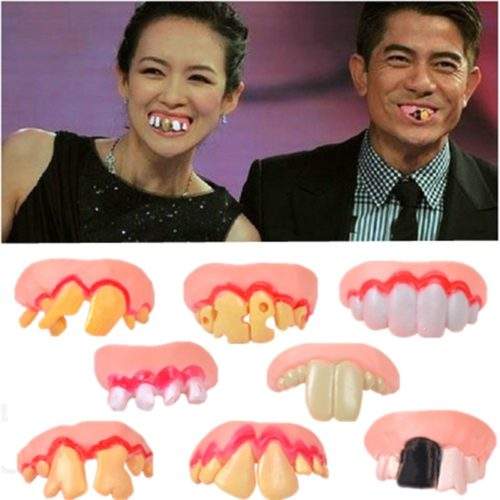 Fake Funny Teeth Prank Toy (8 pcs)