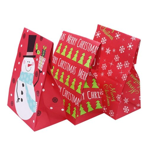 Christmas Treat Bags Party Favor (5pcs)