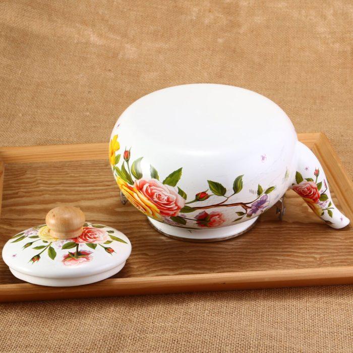 Floral Teapot Dainty Kettle