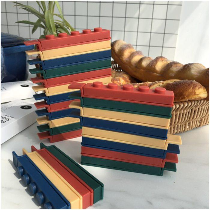 Chip Bag Clips Toy Block Sealers (4pcs)