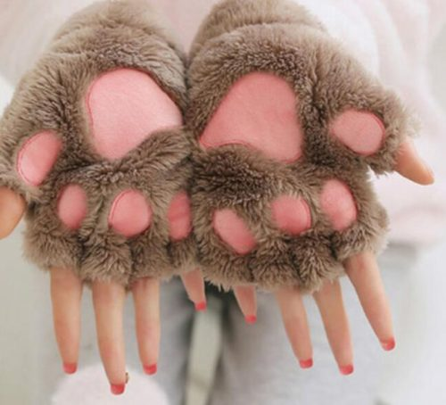 Paw Glove Soft Winter Hand Warmer