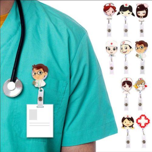 Nurse Badge Reel Card Holder