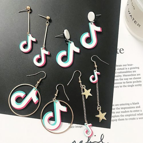 TikTok Earrings Trendy Fashion Accessory