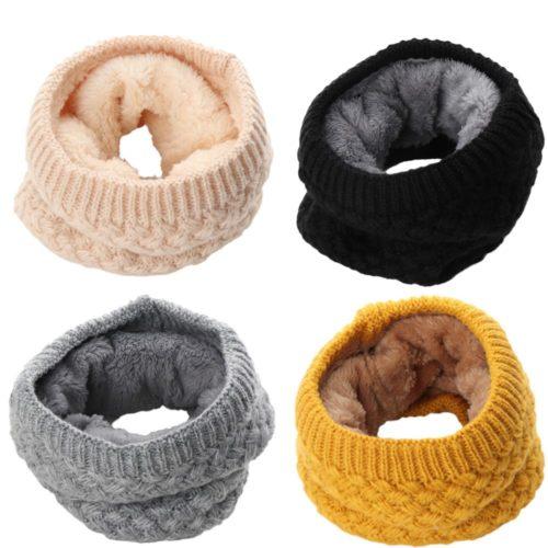 Knitted Neck Warmer Winter Wear