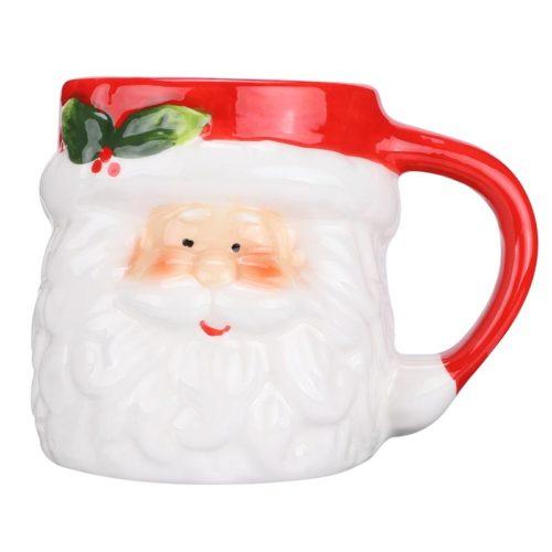 Santa Mug Ceramic Christmas Cup