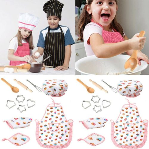 Kids Chef Set Role Play Kit (11pcs)