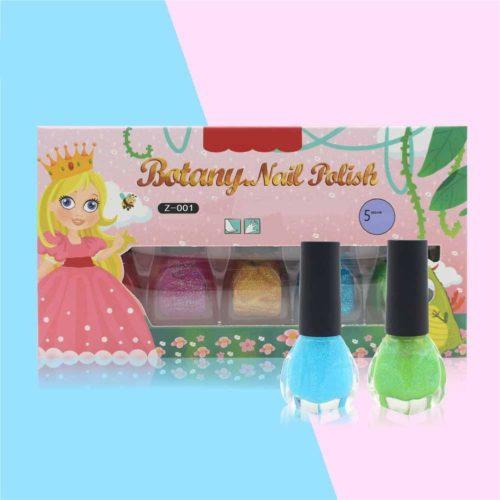 Nail Polish for Kids Set (5 Pcs)