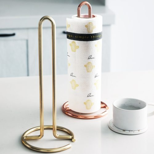 Tissue Stand Metal Paper Towel Holder