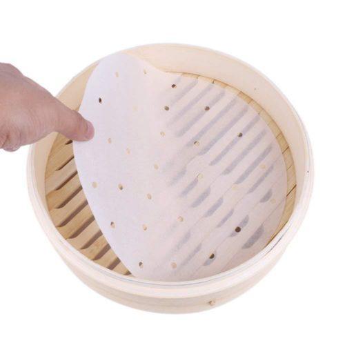 Steamer Paper Non-Stick Sheets (100pcs)