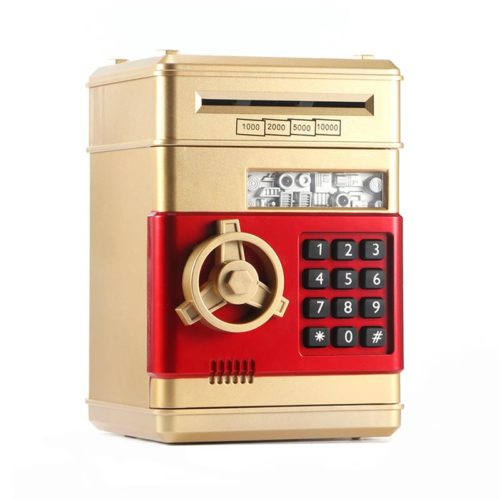 Electronic Piggy Bank ATM Toy Machine