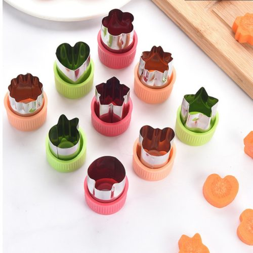 Vegetable Shape Cutters Set (3 Pcs)