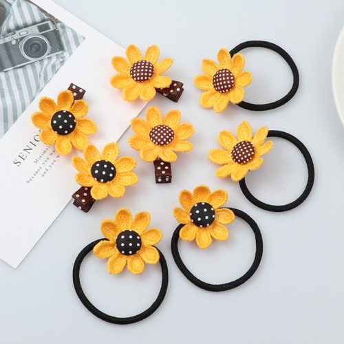 Sunflower Hairclips Hair Accessory