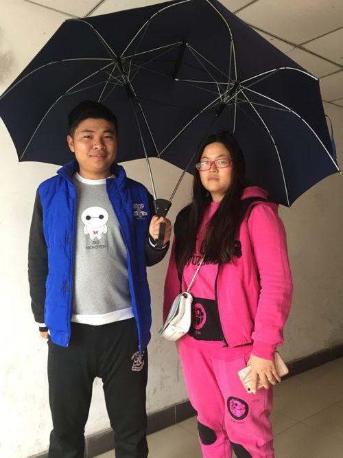 Double Umbrella Windproof Design