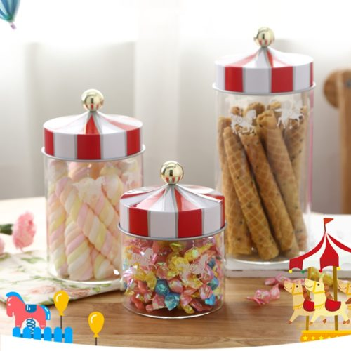 Sweets Jar Carousel Design Container