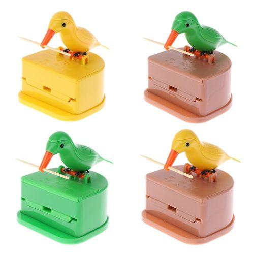 Bird Toothpick Dispenser Storage Box