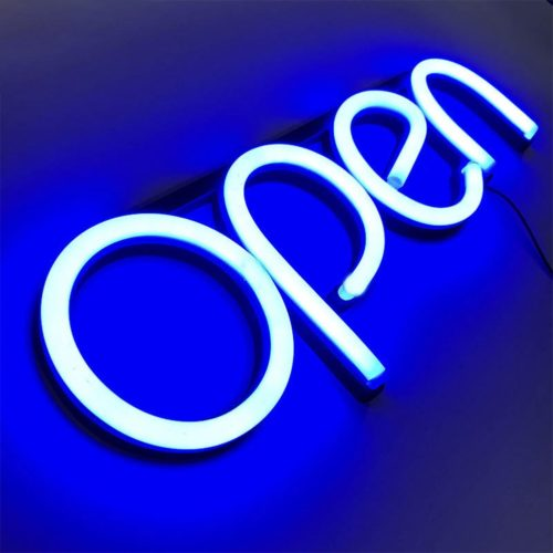 Lighted Open Sign LED Display Sign