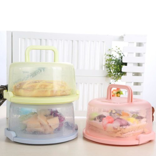 Cake Storage Container Portable Carrier Box