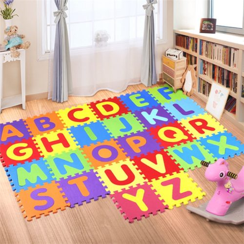 Colorful Alphabet Puzzle Mat (26 Pcs)