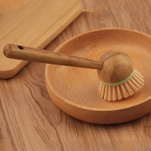 Wooden Scrub Brush Cleaning Tool