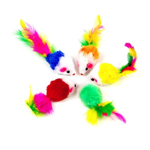 Mice Toys Interactive Cat Toys (10pcs)