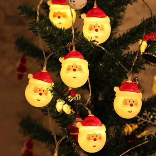 Santa Lights LED Christmas Decoration