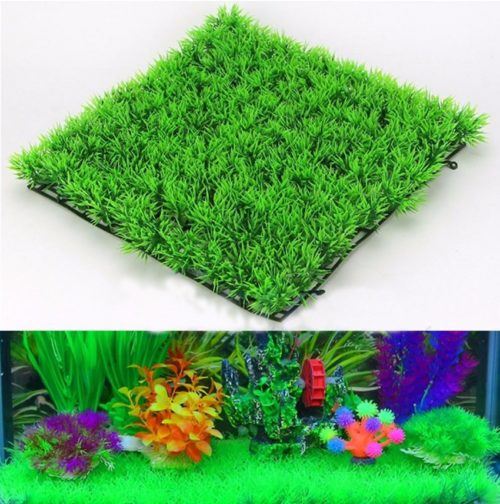 Artificial Grass for Aquarium Tank Decor
