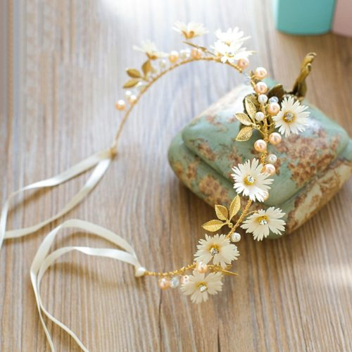 Flower Tiara Headband Hair Accessories